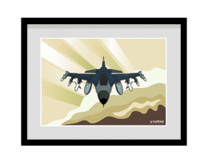 F-16 Fighting Falcon-frame